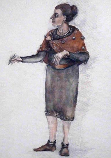 Tracht Bronzezeit Ruth Strähhuber