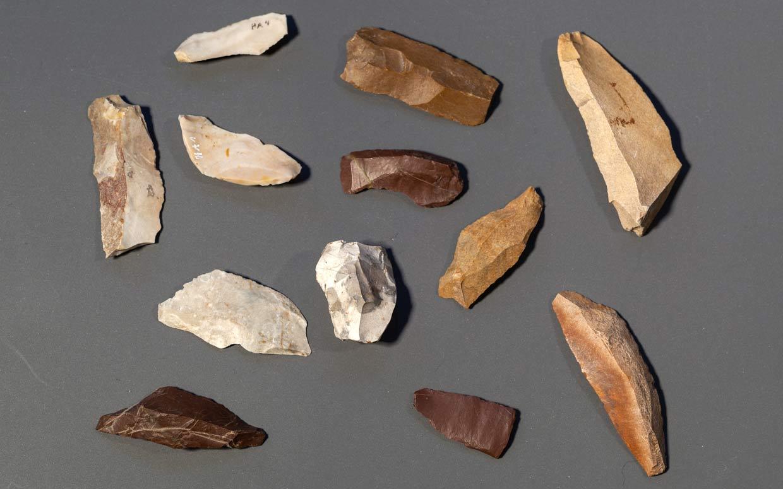 Steinzeit Silices